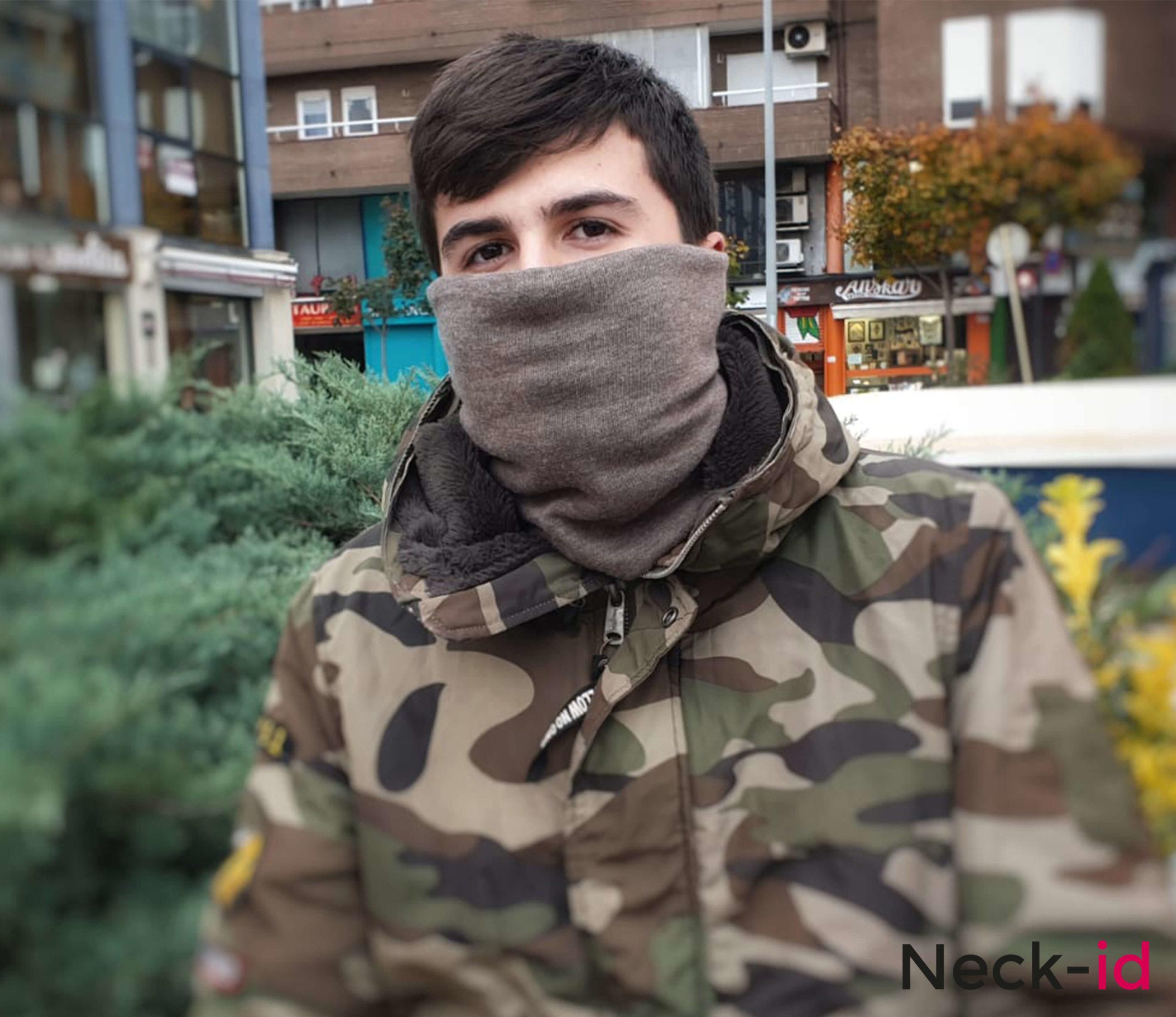 Neck-id Marrón, consigue la mayor protección