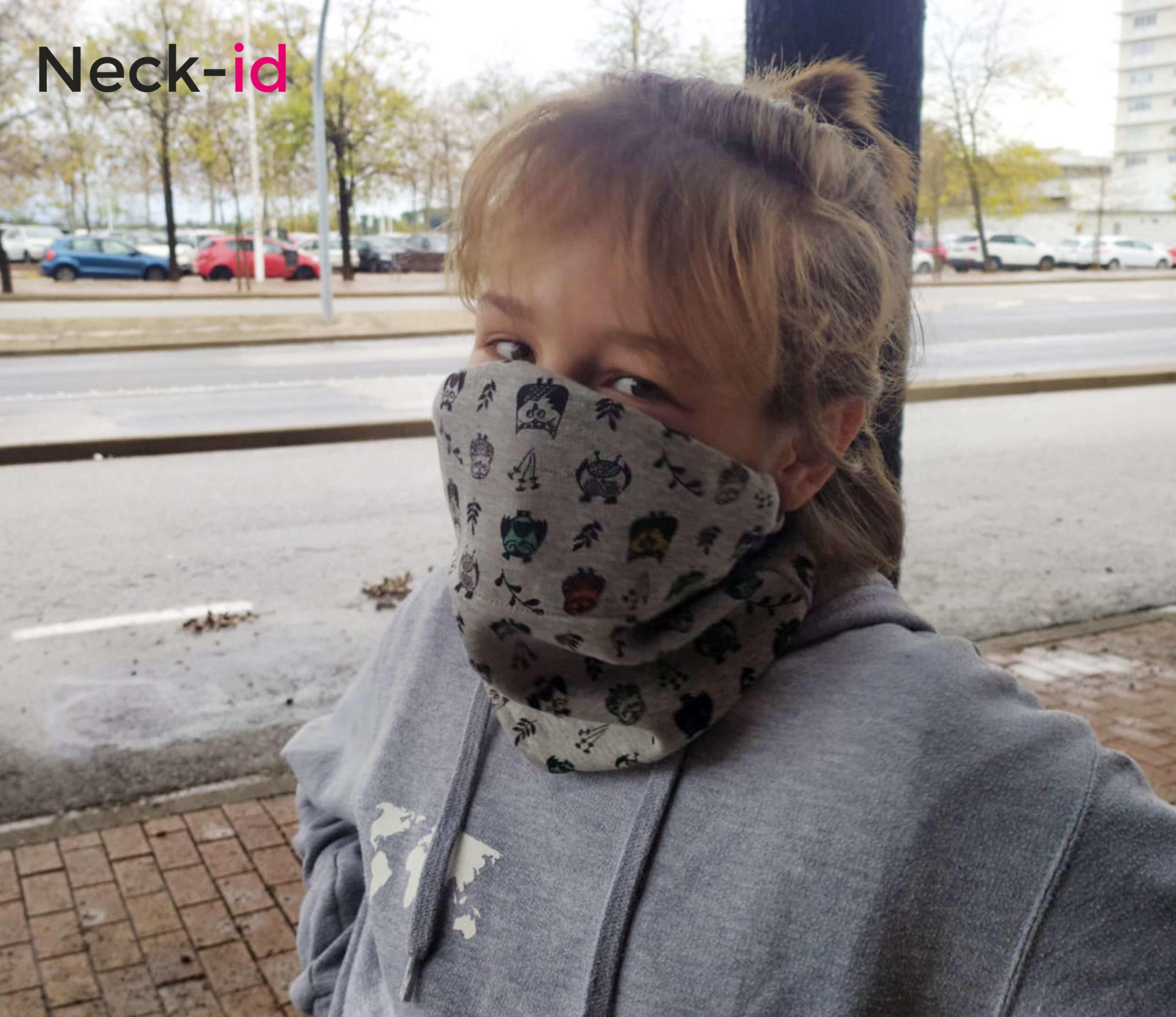 Neck-id junior, solución para toda las edades